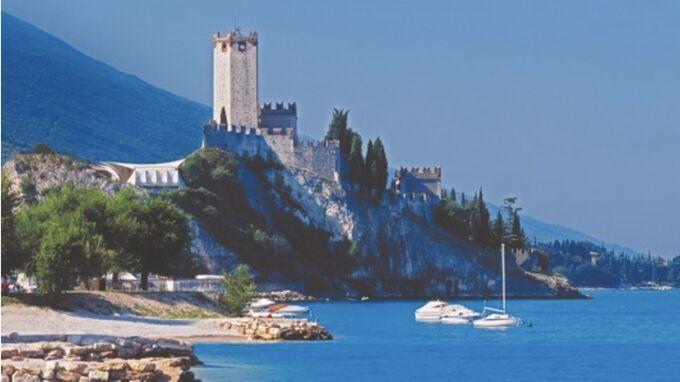Scaliga, Italien - Schloss von Malcesine