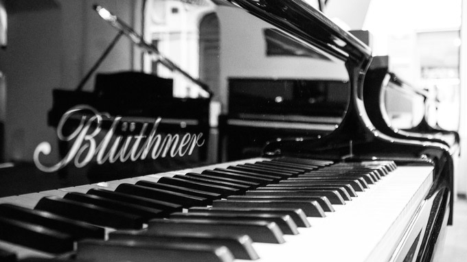 © Blüthner / Blüthner - Konzertflügel / Zum Vergrößern auf das Bild klicken