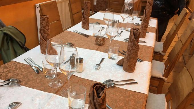 © Edith Spitzer, Wien / BohinerSee, Slowenien - Pri Iovcu_Restaurant / Zum Vergrößern auf das Bild klicken