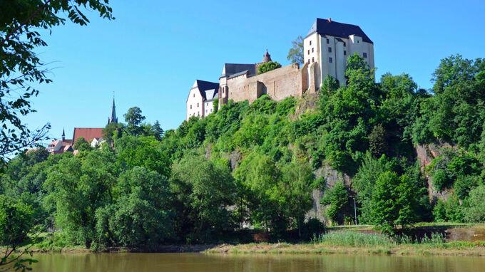 © Andreas Schmidt / Burg Mildenstein an der Freiberger Mulde, Sachsen / Zum Vergrößern auf das Bild klicken