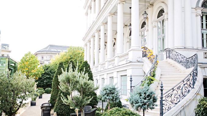© Palais Coburg Residenz / Tina Herzl / Palais Coburg, Wien - Außenfassade / Zum Vergrößern auf das Bild klicken