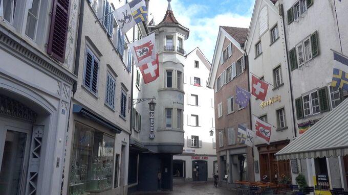 Chur, Graubünden - Häuser 2021