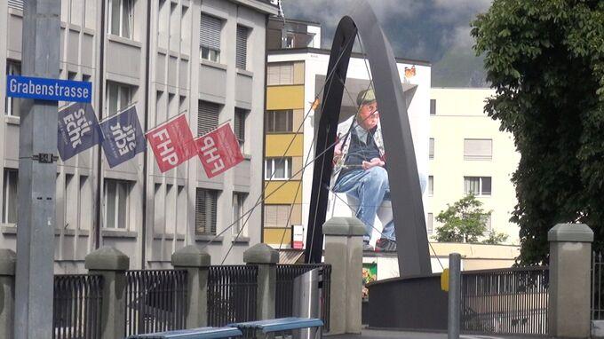 Chur, Graubünden - Wandgemälde 2021