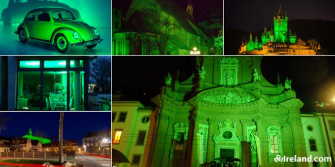 Collage Greenings in Deutschland