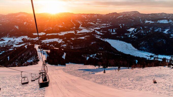 Gemeindealpe Mitterbach, NÖ - early bird Skifahren