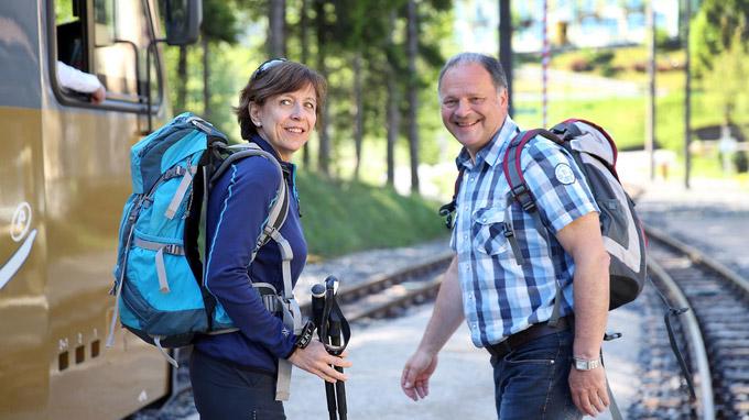 © NÖVOG / weinfranz.at / Mariazellerbahn, NÖ - Wanderung  / Zum Vergrößern auf das Bild klicken