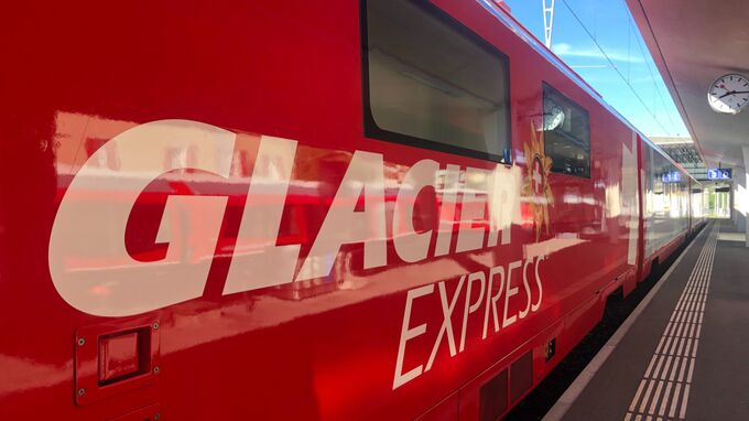 GlacierExpress - Schriftzug 2021