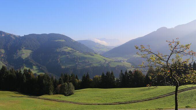 © Kunz PR / Wildschönau, Tirol - Herbstlandschaft  / Zum Vergrößern auf das Bild klicken