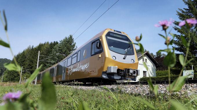 © NÖVOG / weinfranz.at / Himmelstreppe Mariazellerbahn / Zum Vergrößern auf das Bild klicken