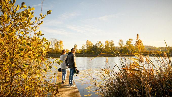 © Thurgau Tourismus / Huettwilen, CH - Nussbaumersee / Zum Vergrößern auf das Bild klicken