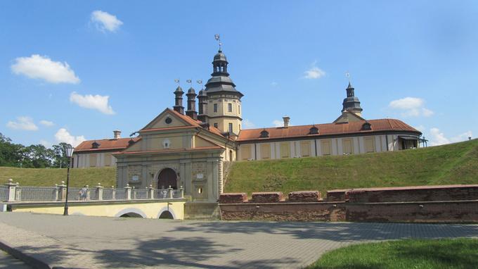 © Edith Köchl, Wien / Schloss Njaswisch, Belarus / Zum Vergrößern auf das Bild klicken
