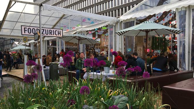 © Edith Spitzer, Wien / Zürich, CH - Food Zurich Festival / Zum Vergrößern auf das Bild klicken