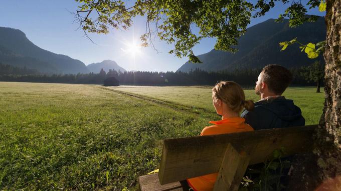 © Ammergauer Alpen GmbH / Anton Brey / Naturpark Ammergauer Alpen, Bayern / Zum Vergrößern auf das Bild klicken