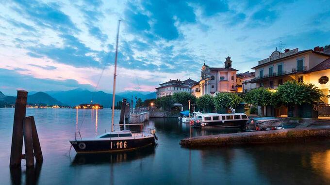 © Susy Mezzanotte / Isola Bella, Lago Maggiore / Zum Vergrößern auf das Bild klicken