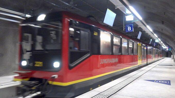 JungfrauJoch, CH - Bahn 2021