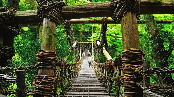 © Setouchi Tourism Authority / Setouchi, Japan - Kazura-Bridge / Zum Vergrößern auf das Bild klicken