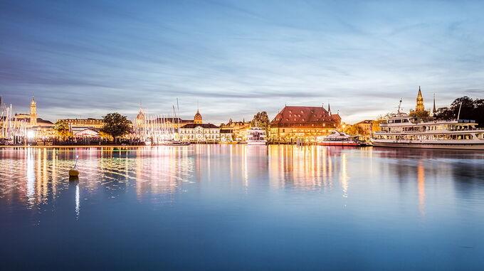 © MTK Dagmar Schwelle / Konstanz, Bodenseee - Panorama / Zum Vergrößern auf das Bild klicken