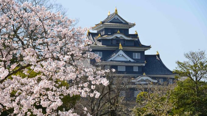 Setouchi, Japan - Koraku-en and Okayama Castle