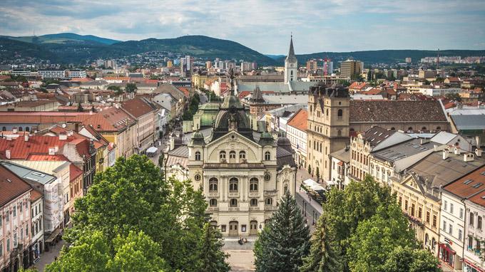 © Miroslav Vacula / Kosice, Slowakei - Staatstheater_detail / Zum Vergrößern auf das Bild klicken