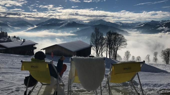 © Ferienregion Hohe Salve / Hohe Salve, Tirol - Liegestuhl / Zum Vergrößern auf das Bild klicken