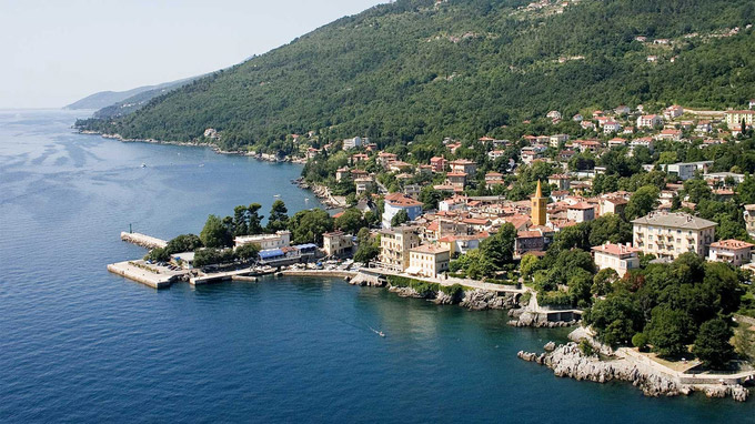 © Egon Hreljanovic | TZ Lovran / Lovran, Kroatien - Panorama / Zum Vergrößern auf das Bild klicken