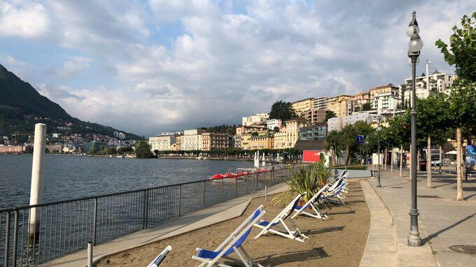 Lugano, Tessin - Strand 2021