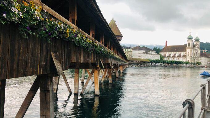 Luzern - Kapellbrücke 2021