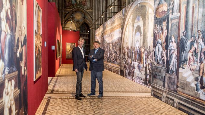 © Robin Consult / Mikes / Votivkirche, Wien - Die großen Meister, Manfred Waba_Wolfgang Grimme / Zum Vergrößern auf das Bild klicken