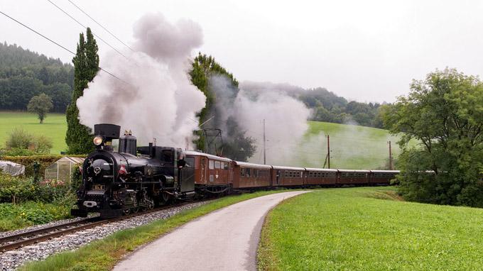 © NÖVOG / Markus Gregory / Mariazellerbahn_Dampfeisenbahn / Zum Vergrößern auf das Bild klicken