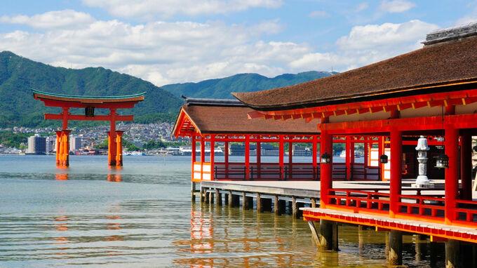 Setouchi, Japan - Miyajima Itsukushima Shrine