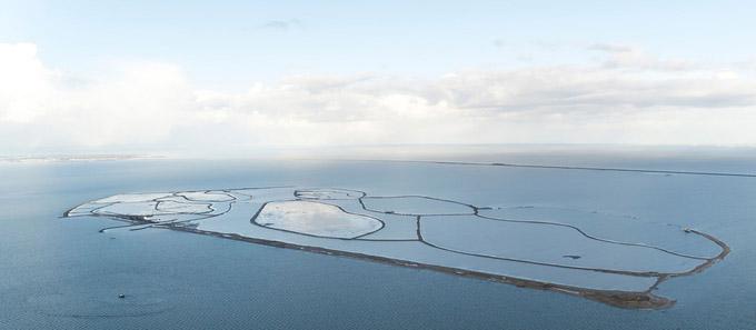 © Toerisme Flevoland / Nationalpark Nieuw Land Flevoland, NL - Marker Wadden / Zum Vergrößern auf das Bild klicken