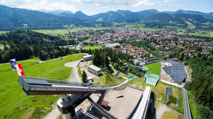 © Audi Arena / Oberstdorf, Bayern - Audi Arena / Zum Vergrößern auf das Bild klicken