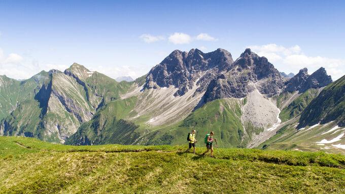 © Tourismus Oberstdorf / Eren Karaman / Oberstdorf, Oberallgäu - Wandern / Zum Vergrößern auf das Bild klicken