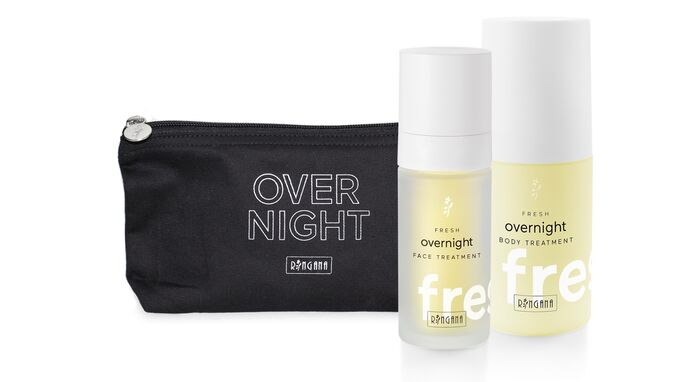 Overnight treatment set