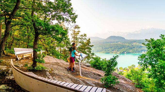 © Wörthersee Tourismus GmbH / Gert Perauer ev / Velden am Wörthersee, Kärnten - Römerschlucht / Zum Vergrößern auf das Bild klicken