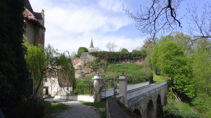 © Edith Spitzer, Wien / Raabs, Waldviertel - Burg_Burganlage / Zum Vergrößern auf das Bild klicken