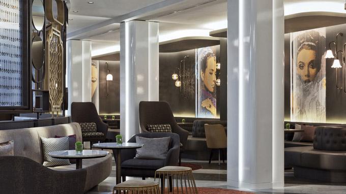 © Renaissance Wien Hotel / Renaissance Wien - Lobby_Lounge / Zum Vergrößern auf das Bild klicken