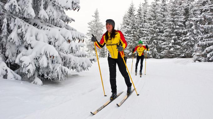 © TTG / Foto: Udo Bernhardt / Rennsteig, Thüringen - Skiwanderweg / Zum Vergrößern auf das Bild klicken