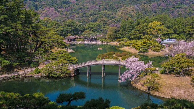 Setouchi, Japan - Ritsurin Garden