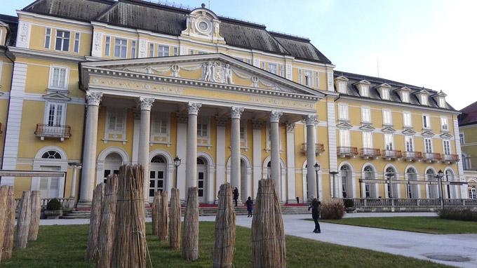 © Edith Spitzer, Wien / RogaskaSlatina, Slowenien - Grand Hotel / Zum Vergrößern auf das Bild klicken