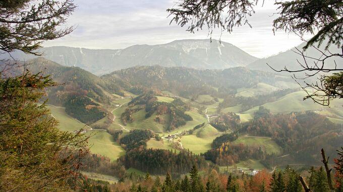 Mostviertel, NÖ - Schluchtenwanderung Gemeinde Opponitz