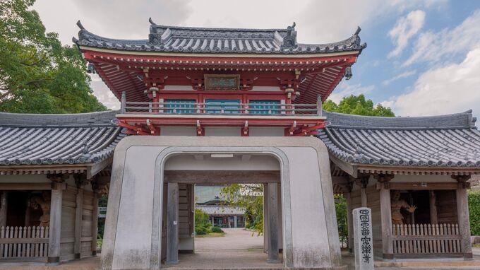 Setouchi, Japan - Shukubo Anrakuji Tokushima