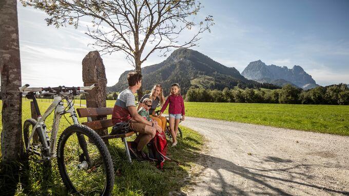 St. Johann in Tirol - Familien-Radfahren