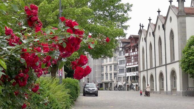 St. Gallen, CH - Kirche