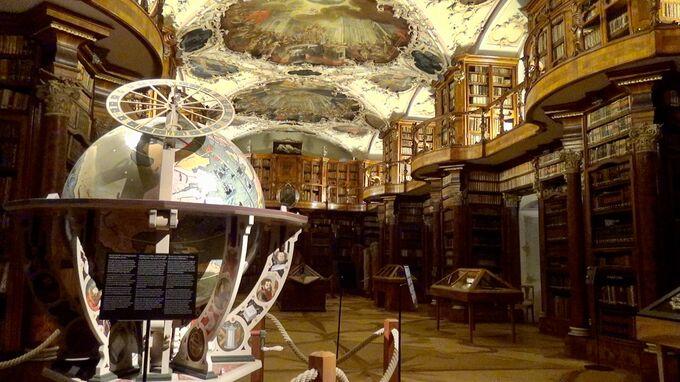 St. Gallen, CH - Stiftsbibliothek Globus