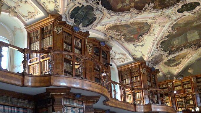 St. Gallen - Stiftsbibliothek 2021