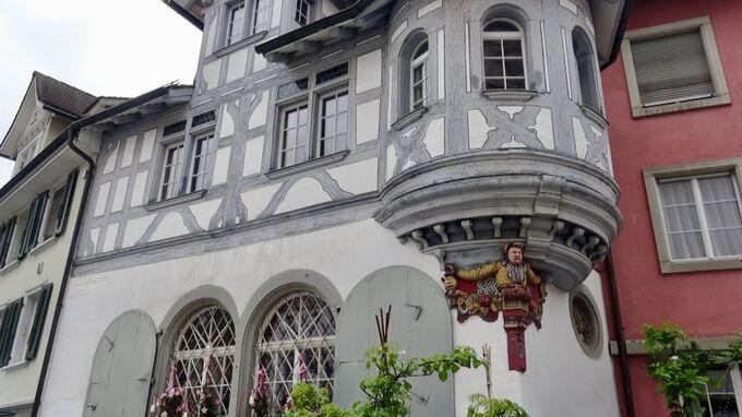 St. Gallen, CH - Stütze