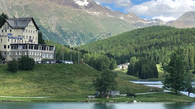 St. Moritz, Graubünden -See 2021