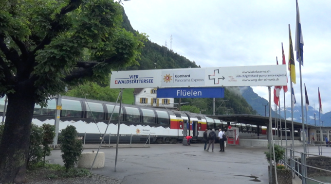 Gotthard Panorama Express - Flüelen2021