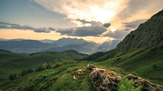 © TVB Pillerseetal / Martin Hautz / Pillerseetal, Tirol - Steinberge / Zum Vergrößern auf das Bild klicken
